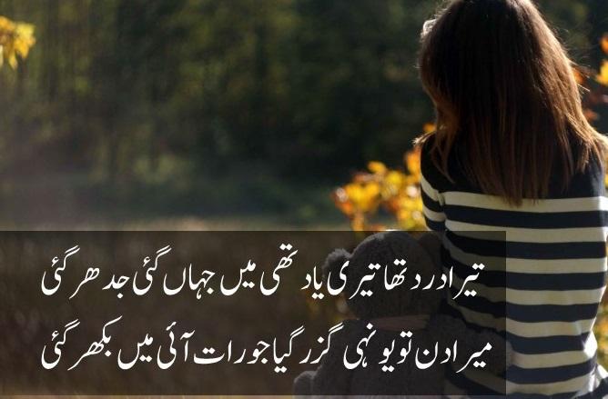 Urdu Sad Shayari Pics