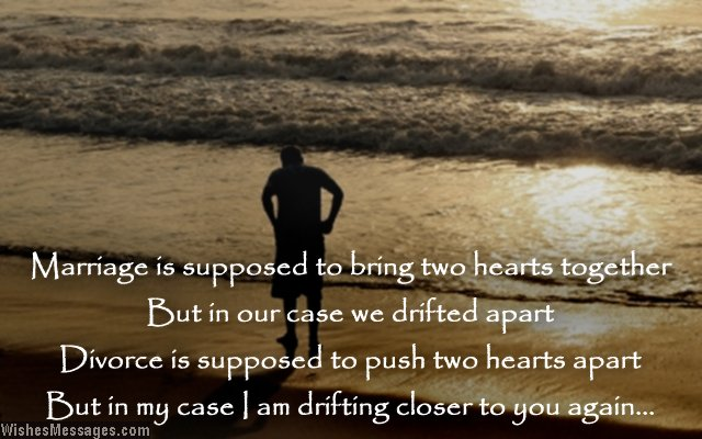 Sad Love Quote About A Husband Missing His Ex Wife