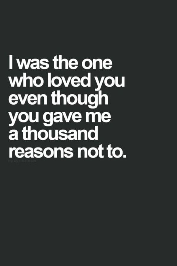 Too Sad Love Quotes