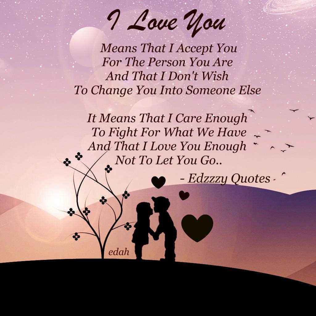 Uplifting Quotes About Love  I Love You Means