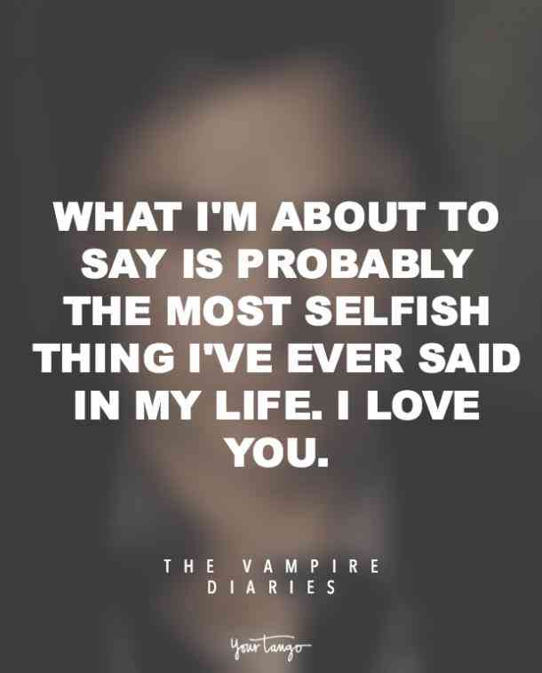 Vampire Diaries Quotes Love Quotes