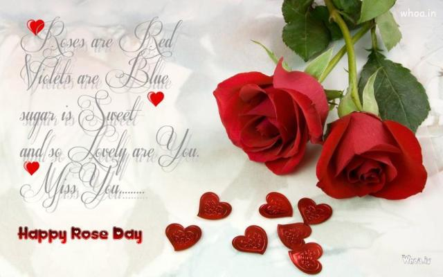 Only In Art Will The Lion Lie Down With The Lamb And The Rose Grow Without Thorn Happy Rose Day