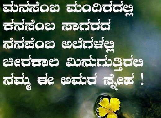 Love This Language Whatsapp Status In Kannada