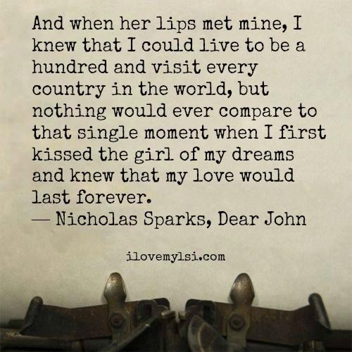 When Her Lips Met Mine
