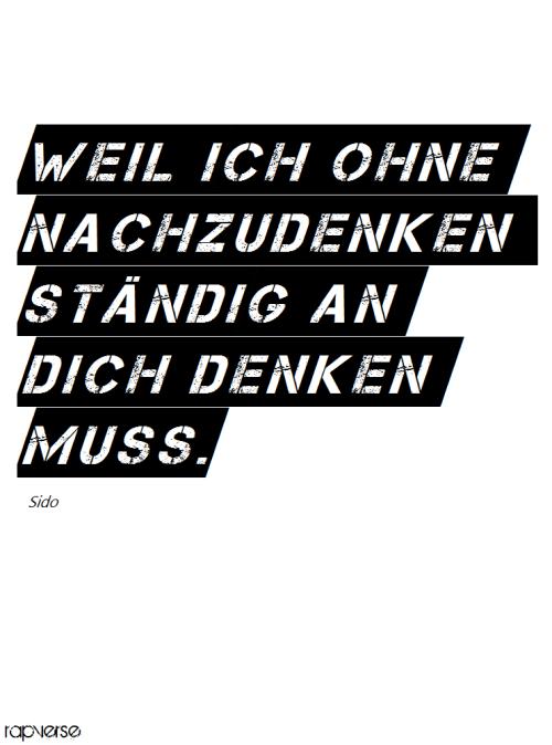 Sido Liebe Zitate Rap