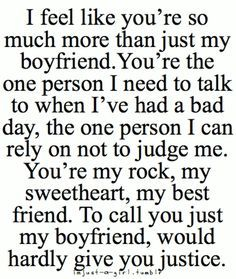 Cute Boyfriend Quotes For Him