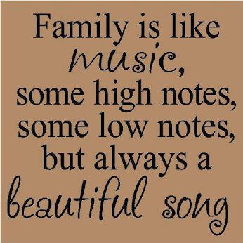 Family Is Like Music Pictures P Os And Images For Tumblr Pinterest  C B Quote Familylove