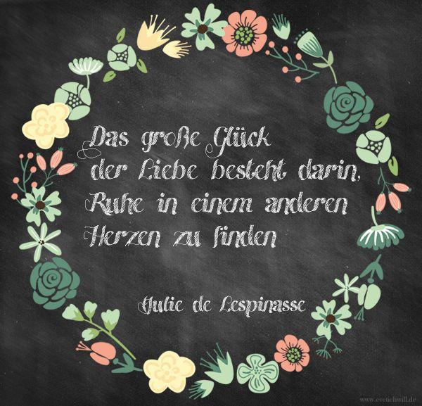 Julie De Lespinasse Zitat Uber Liebe