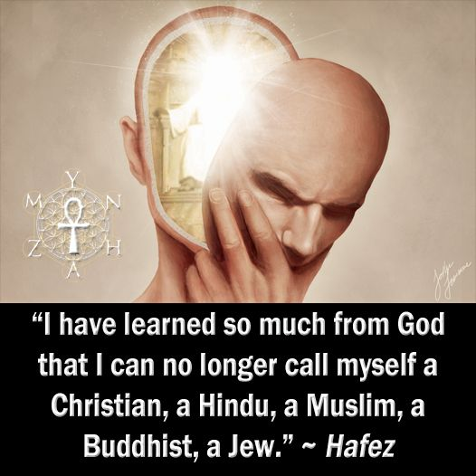 I Have Learned So Much From That I Can No Longer Myself A Christian A Hindu A Muslim A Buddhist A Jew Hafez We Are All One