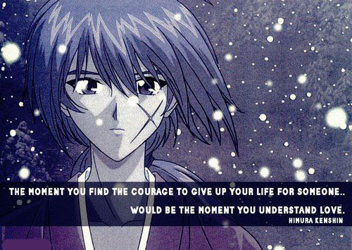 Anime Rurouni Kenshin Anime Love Quotes