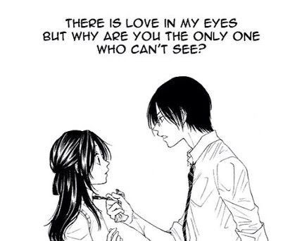 Kyuro Senpai Here With An Anime Love Quotes
