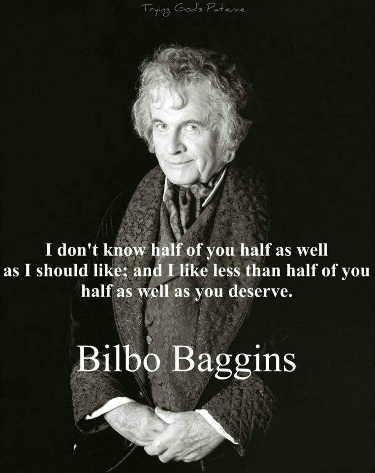 Bilbo Baggins Zitate Pinterest Hobbithohle Herr Der Ringe Und Hobbit