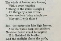 Percy Bysshe S Ey Love Poetry
