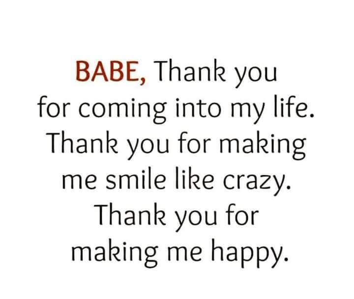 Thank You For Coming Into My Life Love Quotes