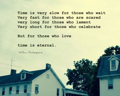 Love Quote William Shakespeare Time For Those Who Love Famous