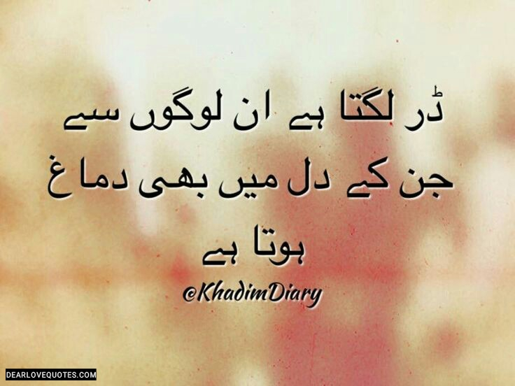 Heart Touching Urdu Unsaid Words Sad Thoughts