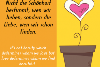 Beauty And Love Popular German Love Sayings