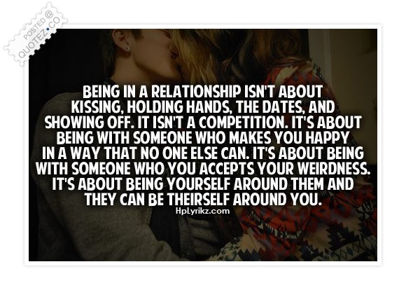 Being In A Relationship Love Quote