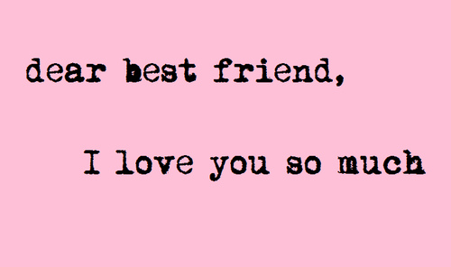 Cute I Love You Quotes For Your Best Friend Quotesta