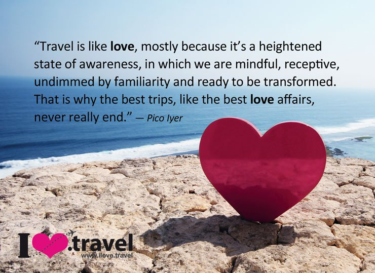Quotes About Love Of Travel
