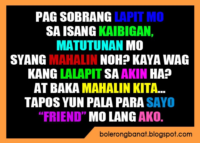 Patama Quotes For Plastic Friends Kaibigan Quotes Tagalog Quotesgram