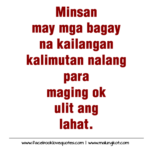 Tagalog Love Quotes And More Love Quotes