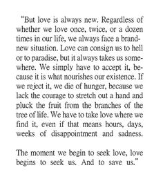 Exerpt From By The River Piedra I Sat Down And Wept By Paulo Coelho