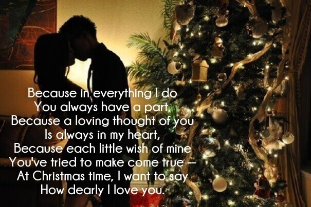 Christmas Love Poems For Her