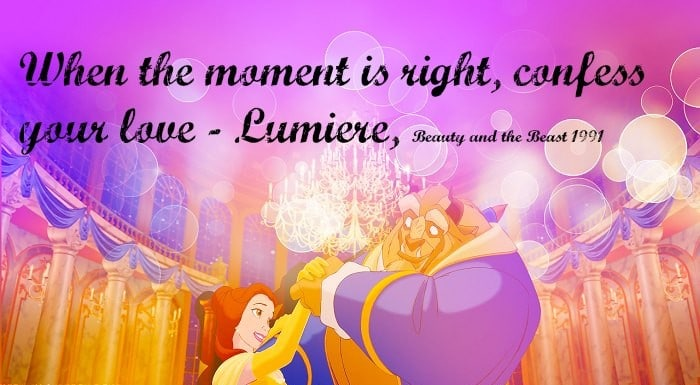 Confess Your Love Beauty And The Beast Quotes