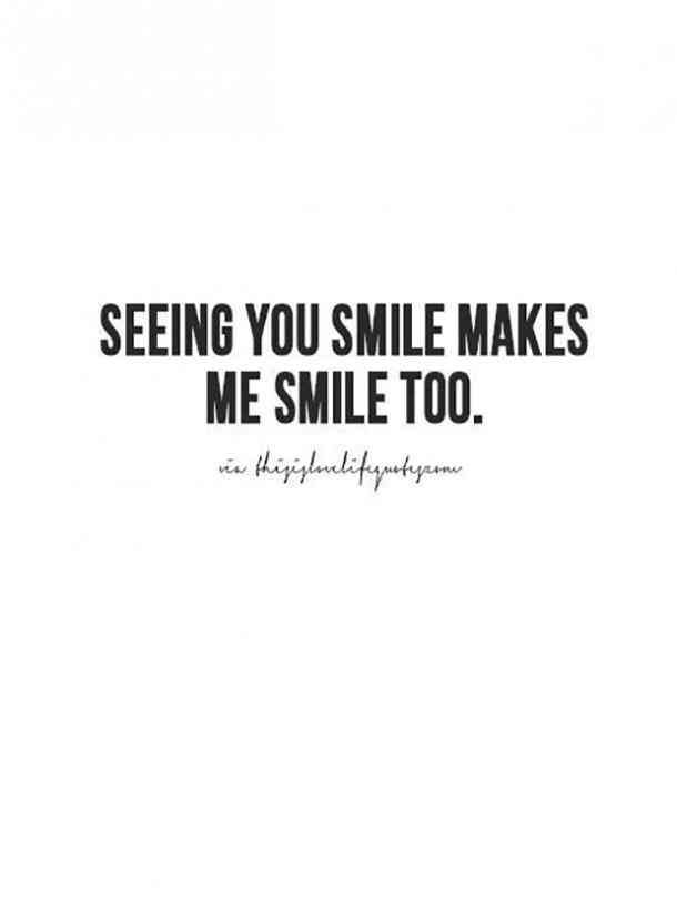 Couple Quotes Seeing You Smile
