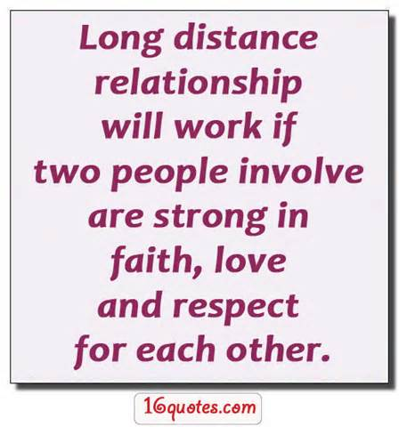 Quotes About Long Distance Relation