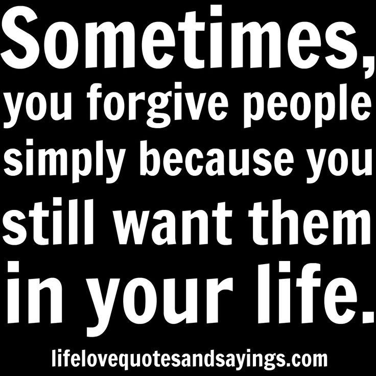 Forgive Ur Friends And Move On With Ur Life