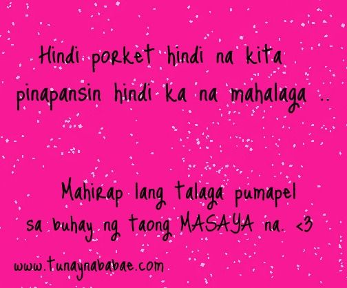 Tagalog Love Quotes Sad Stamps In Love Quotes