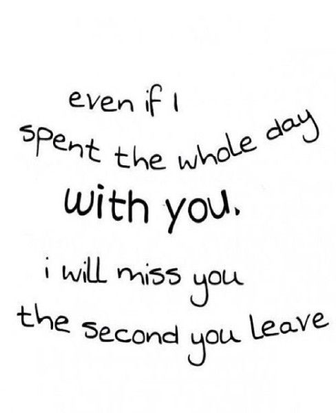 I Will Miss You Love Quotes For Her