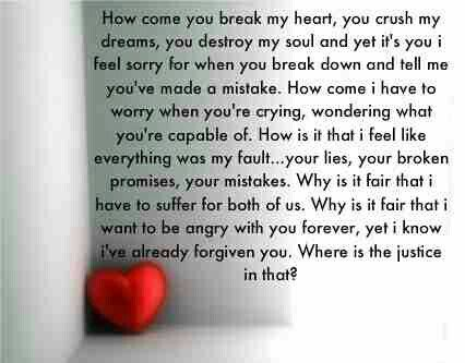 True Broken Heart Quotesheart