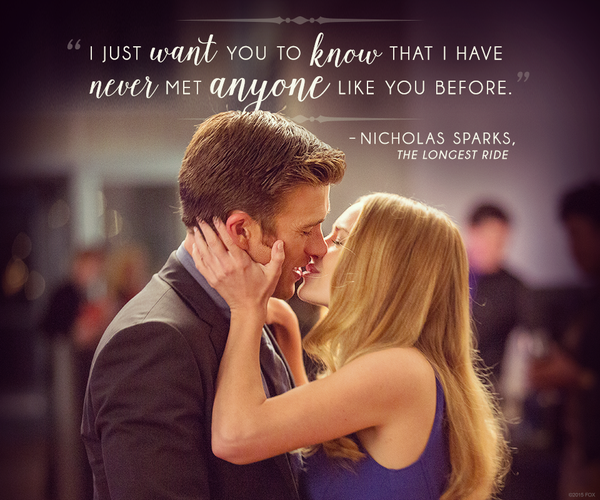 Quote From The Longest Ride Movie Google Search