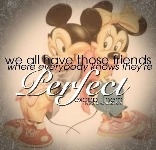 Mickey Mouse Quote About Friendship Wallpaper