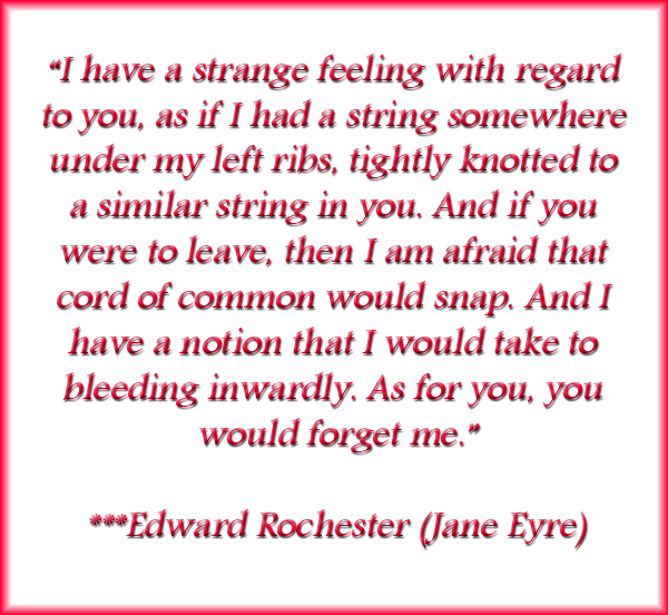 Awaken From A Dream_movie Review Jane Eyre Edward Rochester Quote