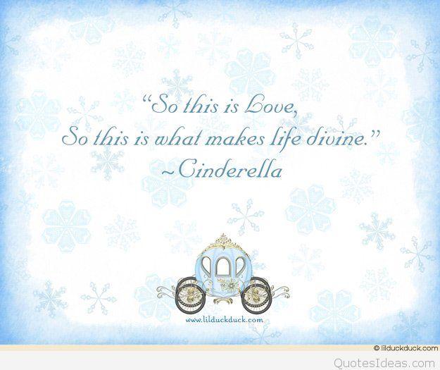 Tale Winter Coach Cinderella Quote Back Cardstock