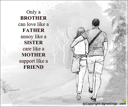 Quotes Cards For Brother
