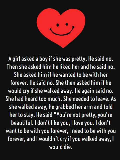 Him Funny Long Love Quote For Her