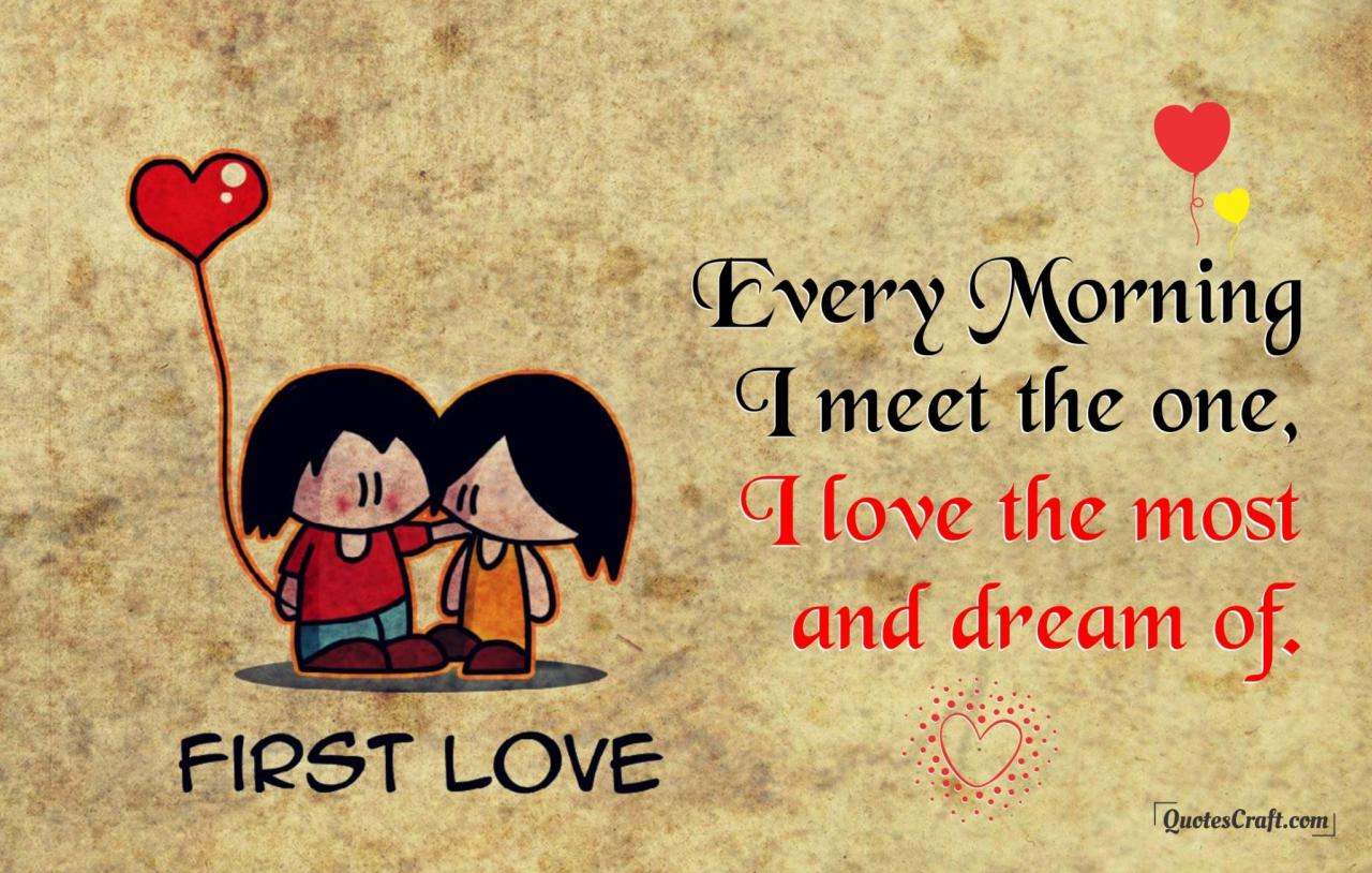 Good Morning My Love Quotes Status