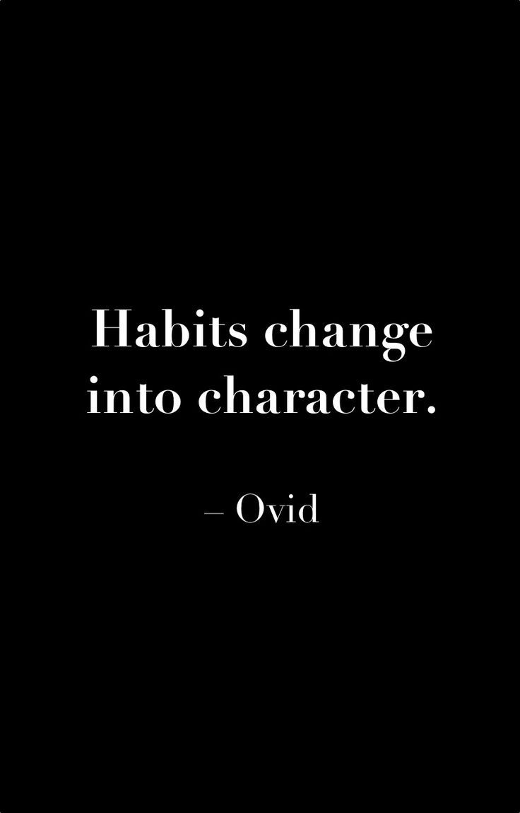 Ovid Habits Change Into Character Ovid