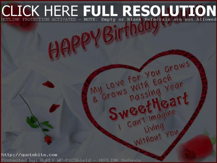 Happy Birthday Quotes Wishes For Husband