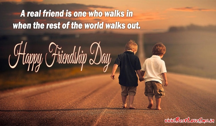 Happy Friendship Day Msg