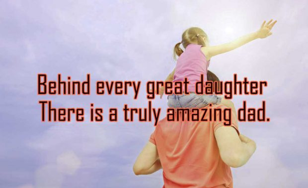 Heart Touching Father Daughter Quotes Images