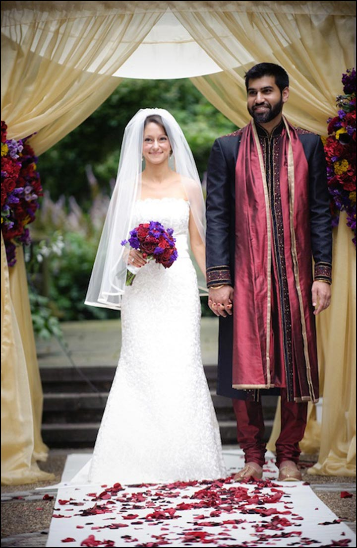 Hindu And Christian Wedding