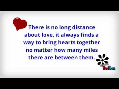 Most Powerful Long Distance Relationship Quotes