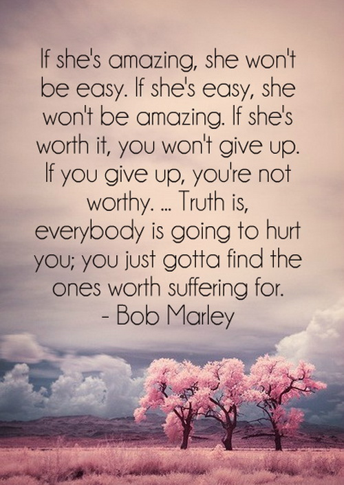 If Shes Amazing She Wont Be Easy