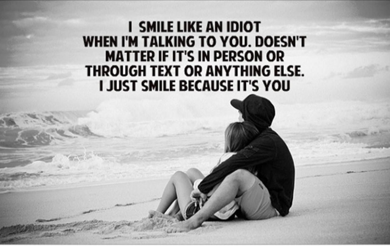 I Smile Because Of You Image